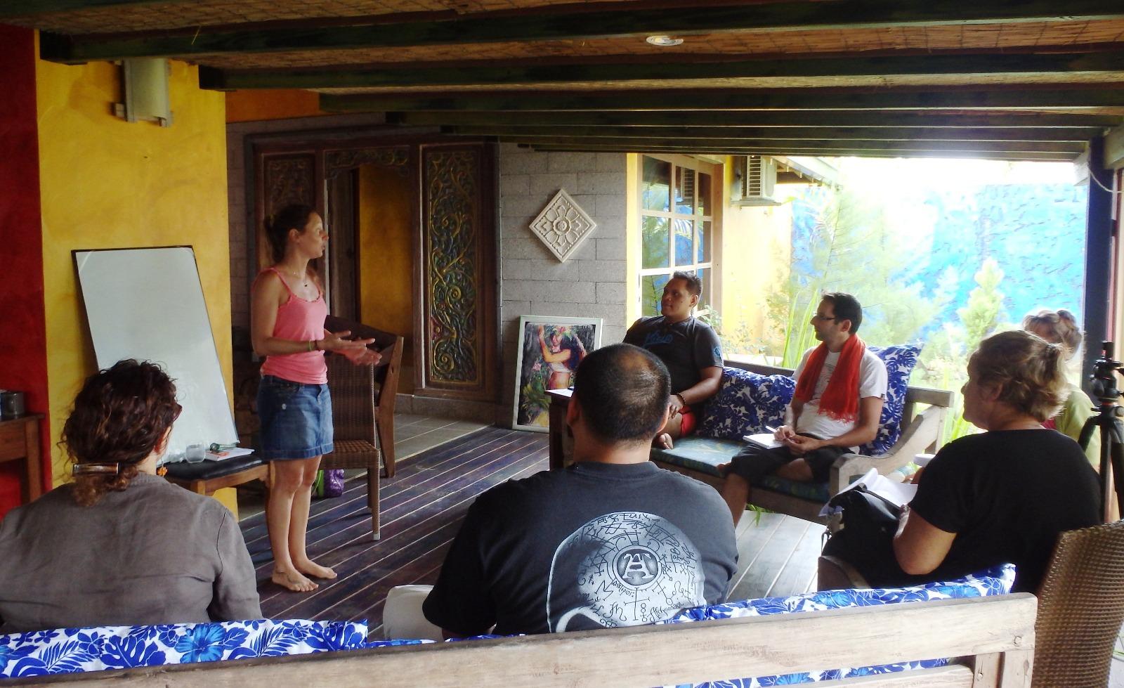 Atelier développement personnel avec Amandine