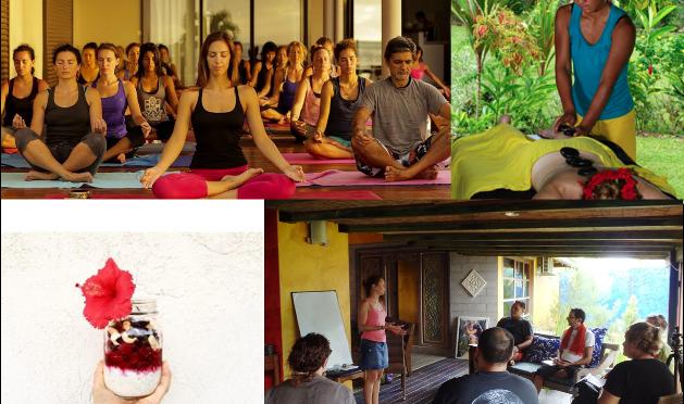 Weekend «Détox» à Moorea 17/18 septembre : Yoga, développement personnel et cuisine healthy