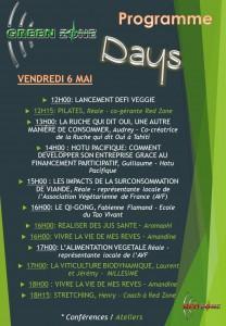 Green zone days vendredi 6 mai